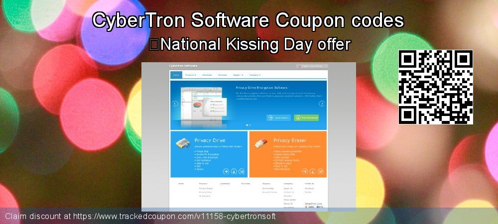 CyberTron Software Coupon discount, offer to 2018 New Year's Day