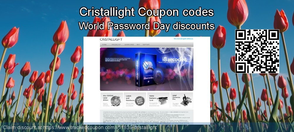 Cristallight Coupon discount, offer to 2020 Lunar New Year