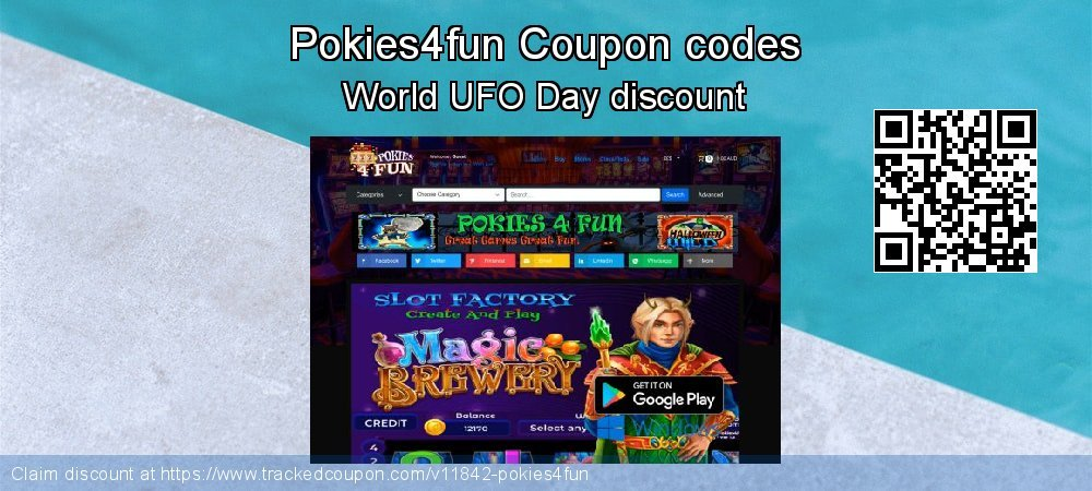 Pokies4fun Coupon discount, offer to 2020 New Year