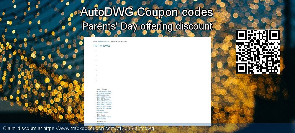 AutoDWG Coupon discount, offer to 2020 New Year