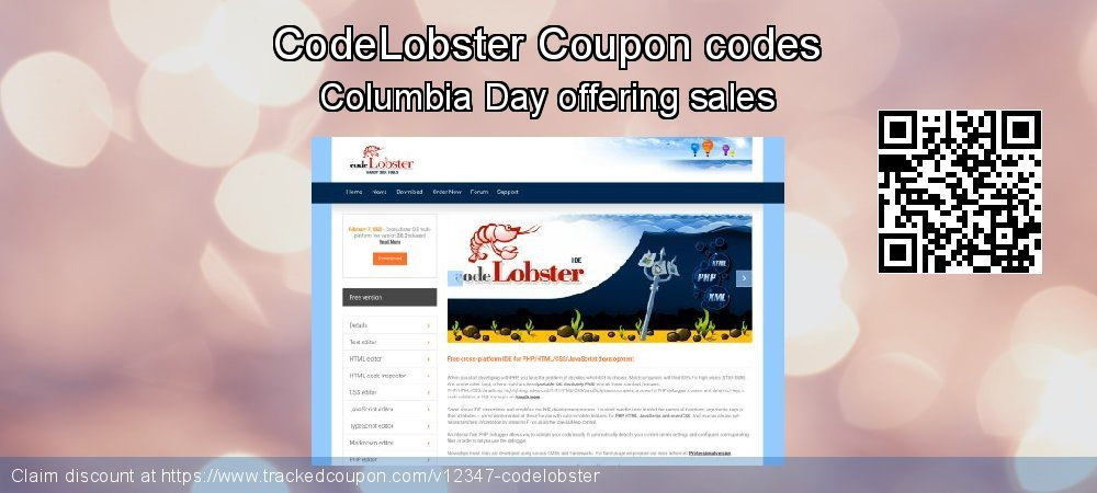 CodeLobster Coupon discount, offer to 2020 Happy New Year