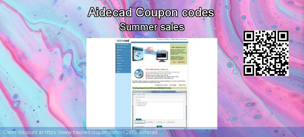 Aidecad Coupon discount, offer to 2019 Back-to-School event