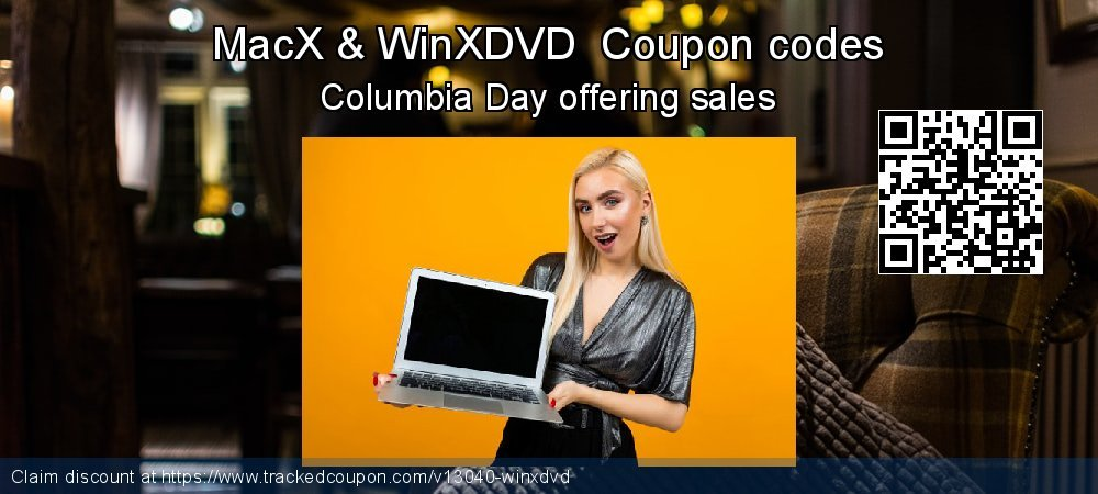 MacX & WinXDVD  Coupon discount, offer to 2019 Valentines Day