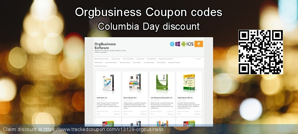 Orgbusiness Coupon discount, offer to 2019 Back to School promotions