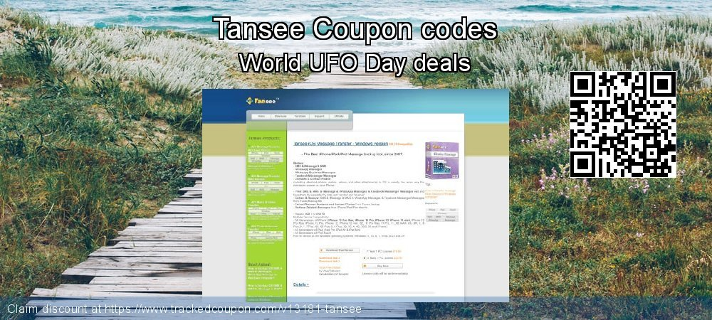 Tansee Coupon discount, offer to 2020 Spring