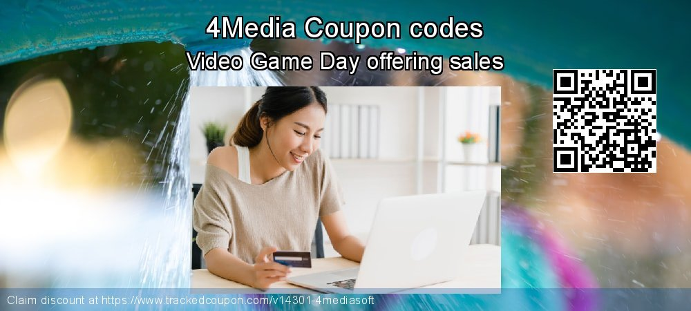 4Media Coupon discount, offer to 2019 Christmas & New Year