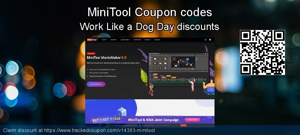 MiniTool Coupon discount, offer to 2020