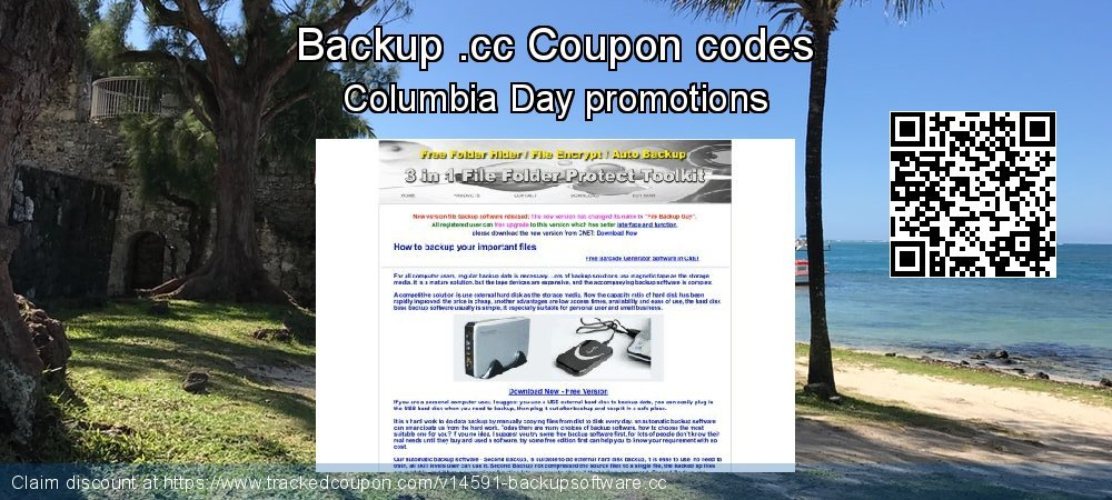 Backup .cc Coupon discount, offer to 2020