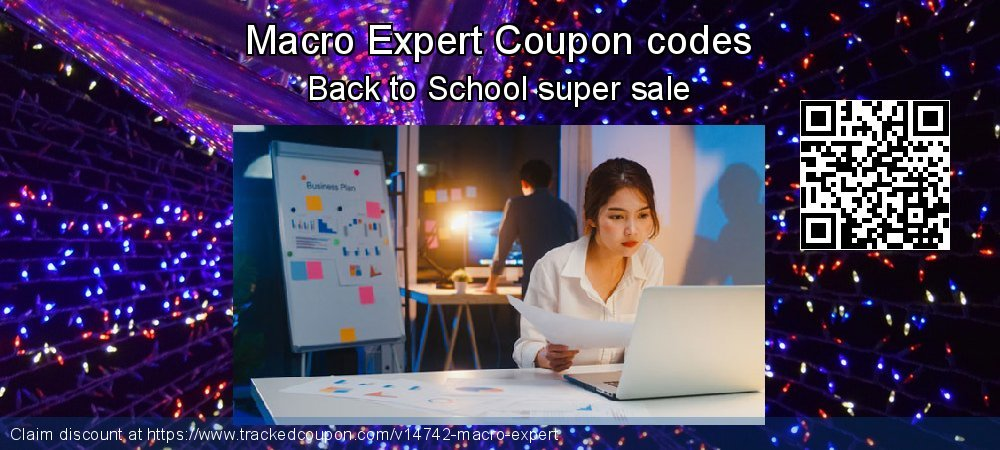 Macro Expert Coupon discount, offer to 2020 Happy New Year