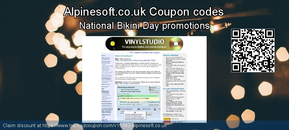 Alpinesoft.co.uk Coupon discount, offer to 2021