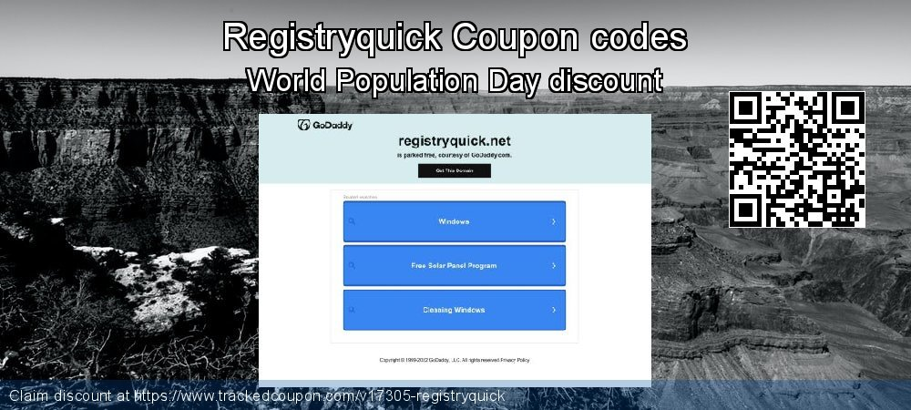 Registryquick Coupon discount, offer to 2020 Lunar New Year