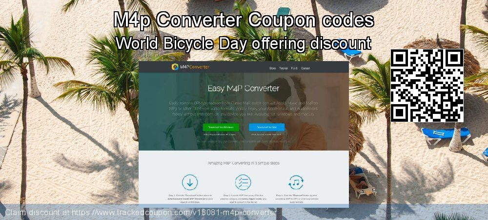 M4p Converter Coupon discount, offer to 2020