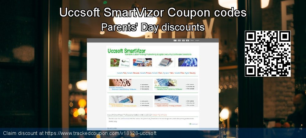 Uccsoft SmartVizor Coupon discount, offer to 2020 Lunar New Year