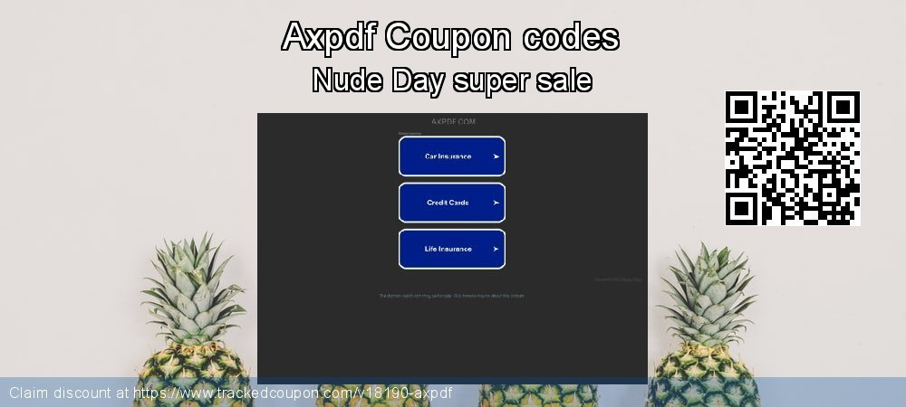 Axpdf Coupon discount, offer to 2019 Easter