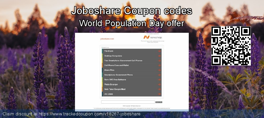 Joboshare Coupon discount, offer to 2019 College Student deals