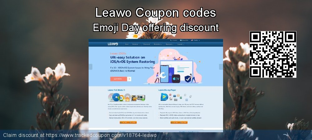Leawo Coupon discount, offer to 2019 Thanksgiving