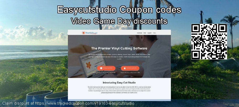 Easycutstudio Coupon discount, offer to 2019 April Fool's Day