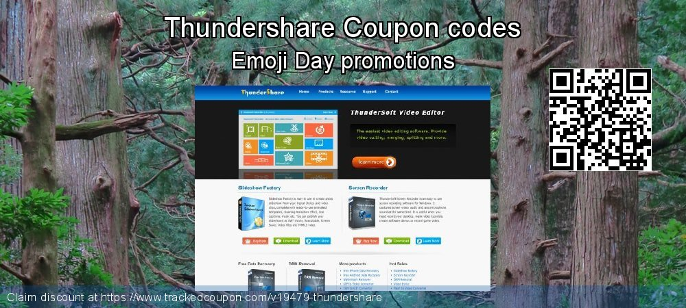 Thundershare Coupon discount, offer to 2018 End of Year