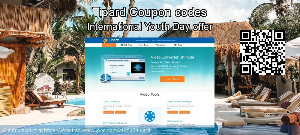 Tipard Coupon discount, offer to 2018 End of Year