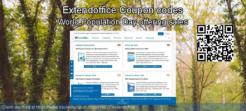 Extendoffice Coupon discount, offer to 2021
