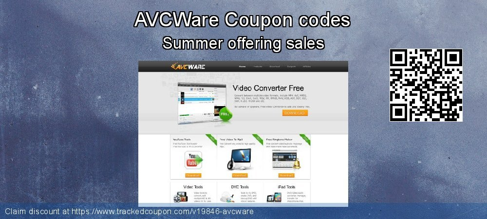 AVCWare Coupon discount, offer to 2019 X'mas