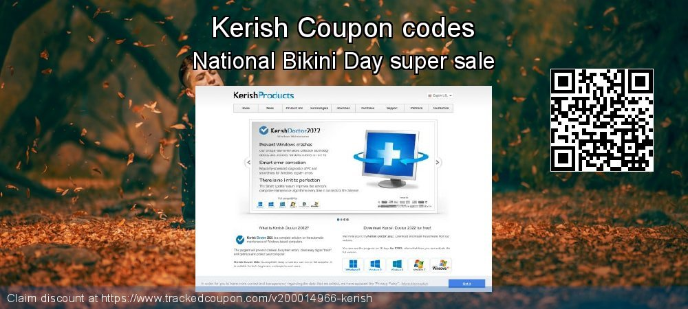 Kerish Coupon discount, offer to 2020