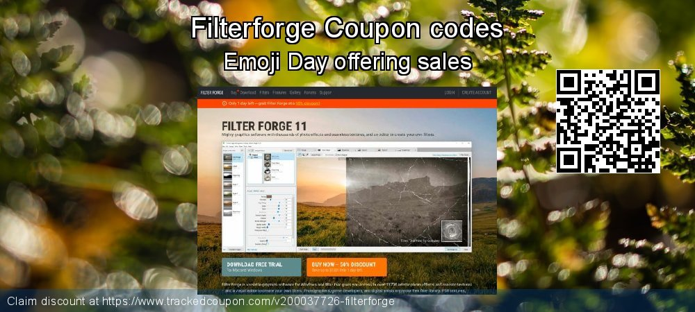 Filterforge Coupon discount, offer to 2019 Halloween