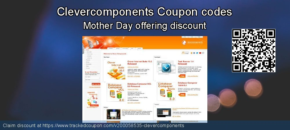 Clevercomponents Coupon discount, offer to 2020