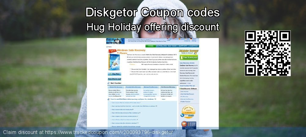 Diskgetor Coupon discount, offer to 2020