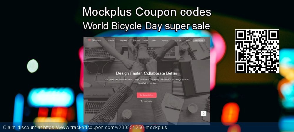 Mockplus Coupon discount, offer to 2020 Valentine's Day