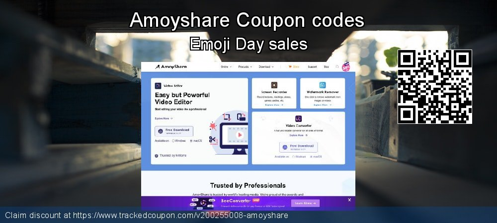 Amoyshare Coupon discount, offer to 2020