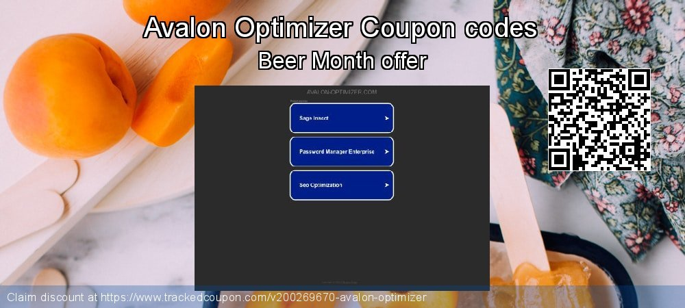 Avalon Optimizer Coupon discount, offer to 2021