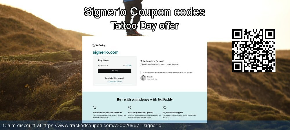 Signerio Coupon discount, offer to 2021