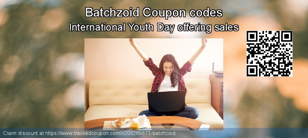 Batchzoid Coupon discount, offer to 2020