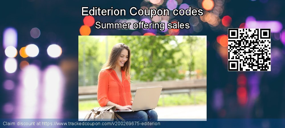 Editerion Coupon discount, offer to 2020
