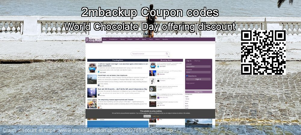 2mbackup Coupon discount, offer to 2019 Halloween