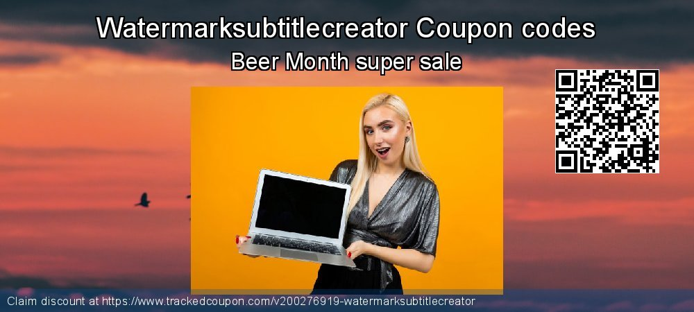 Watermarksubtitlecreator Coupon discount, offer to 2020