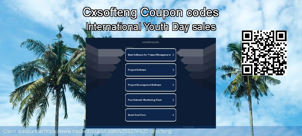 Cxsofteng Coupon discount, offer to 2020