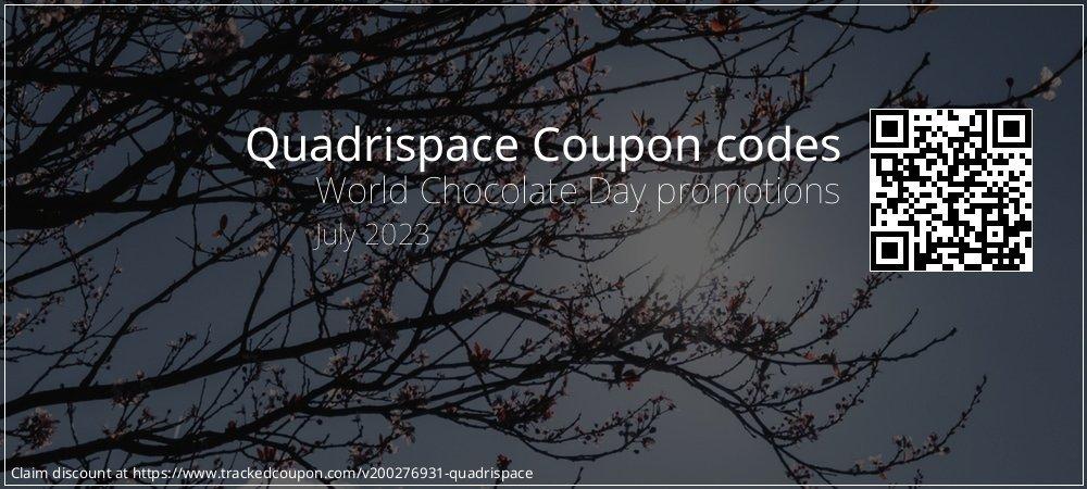 Quadrispace Coupon discount, offer to 2021