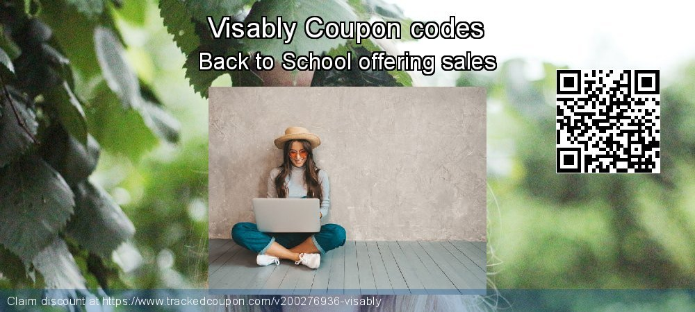 Visably Coupon discount, offer to 2020