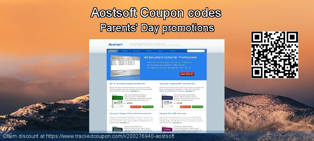 Aostsoft Coupon discount, offer to 2021