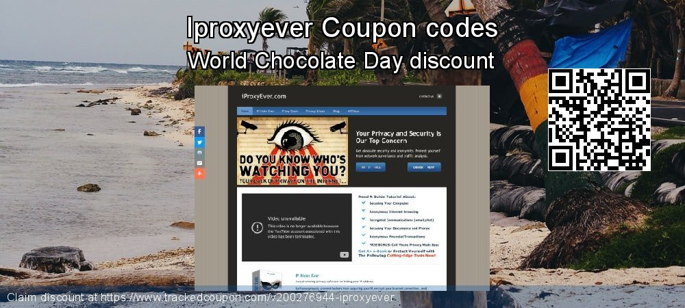 Iproxyever Coupon discount, offer to 2021