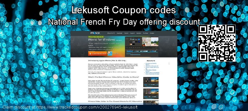 Lekusoft Coupon discount, offer to 2019 Halloween