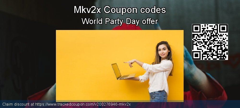 Mkv2x Coupon discount, offer to 2021