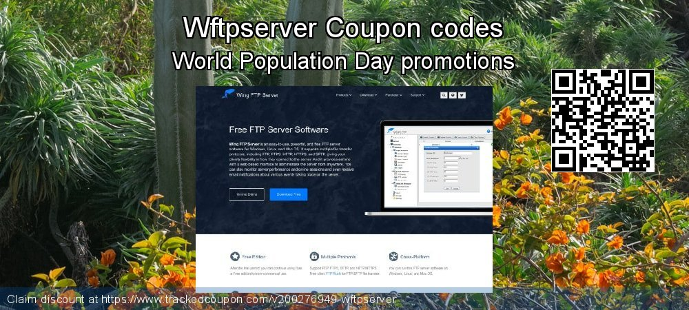 Wftpserver Coupon discount, offer to 2020