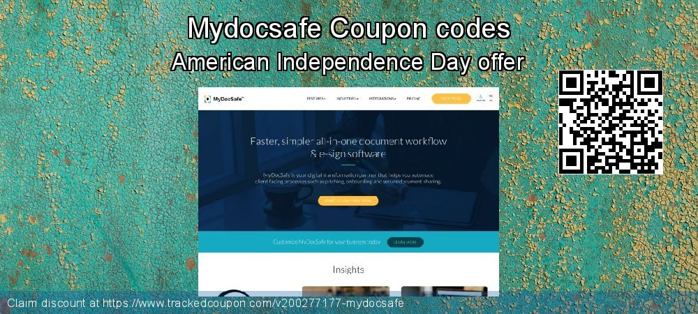 Mydocsafe Coupon discount, offer to 2019 Thanksgiving