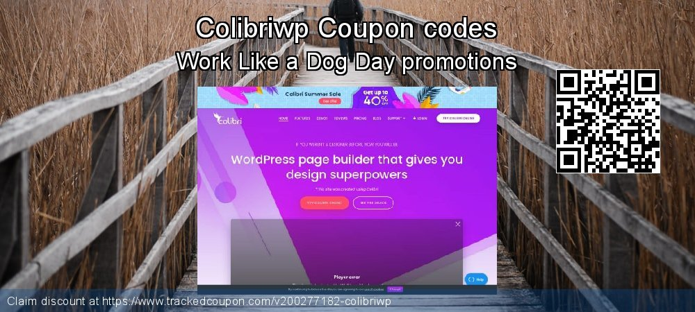 Colibriwp Coupon discount, offer to 2020 New Year's Day