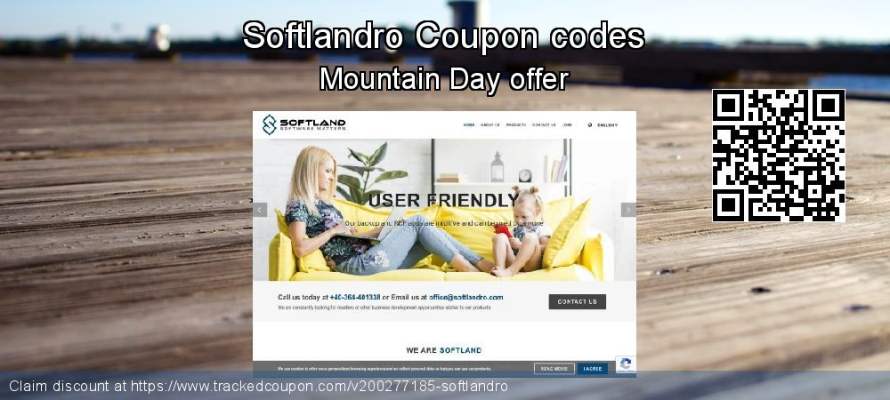 Softlandro Coupon discount, offer to 2020 Valentine's Day