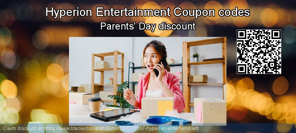 Hyperion Entertainment Coupon discount, offer to 2021