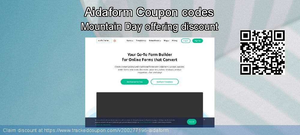 Aidaform Coupon discount, offer to 2020 New Year's Day